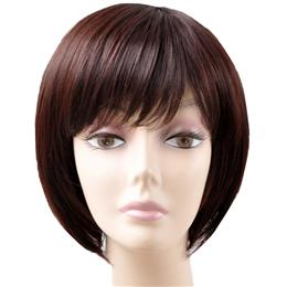 Short Bob Wig 8 inch Synthetic Straight Hair for Women